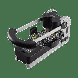 CARL XHC 2300N Extra Heavy-Duty 2-Hole Punch, Gray