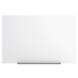 """MasterVision® Magnetic Gold Ultra™ Dry-Erase Board, Lacquered Steel, 45"""" x 29"""", Aluminum"""