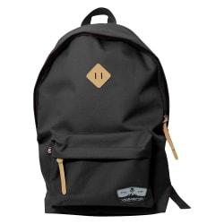 "Volkano Scholar Backpack With 15.6"" Laptop Pocket, Black"