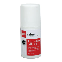 Office Depot® Brand Roll On Ink, 2 Oz, Red