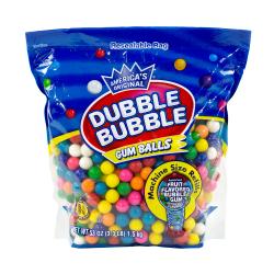 Dubble Bubble Original Gum Balls, 3.3 Lb Bag