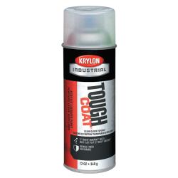 Krylon® Tough Coat® Acrylic Alkyd Enamel, 12 Oz Aerosol Can, Clear Gloss