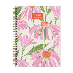 """TF Publishing Medium Weekly/Monthly Planner, 6-1/2"""" x 8"""", Multicolor, July 2021 To June 2022"""