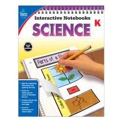 Carson-Dellosa Interactive Notebooks: Science, Kindergarten