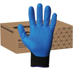 KleenGuard G40 Foam Nitrile Coated Gloves - Nitrile Coating - 7 Size Number - Small Size - Blue - Washable, Silicone-free - For Multipurpose, Assembling, Metal Handling, Glass Handling, Wood Handling, Automobile/Aviation Industry - 24 / Pack