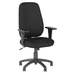 Bush Business Furniture Prosper High Back Task Chair, Black Fabric, Standard Delivery