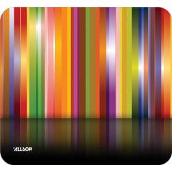 Allsop Naturesmart Mousepad, Tech Multi Stripes