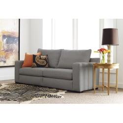 """Serta® Geneva Sofa, 78"""", Gray"""