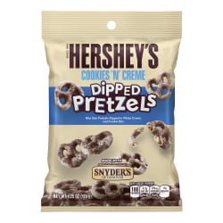 Hershey's® Cookies 'n Crème Dipped Pretzels, 4.25 Oz, Pack Of 4 Bags