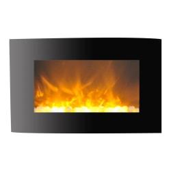 Cambridge Callisto CAM35WMEF-1BLK Electric Fireplace - Indoor - Wall Mountable