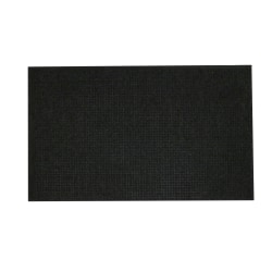 M+A Matting Waterhog Fashion Floor Mat, 3' x 5', Charcoal