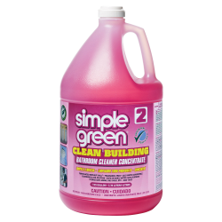 Simple Green® Clean Building Bathroom Cleaner Concentrate, 128 Oz.