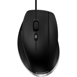 3Dconnexion CadMouse USB Mouse, Matte Black