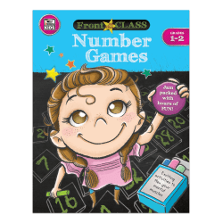 Thinking Kids® Front Of The Class Number Games, Grades 1-2