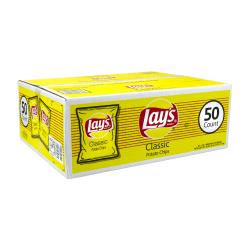 Frito-Lay® Original Lay's® Potato Chips, 1 Oz, Box Of 50 Bags