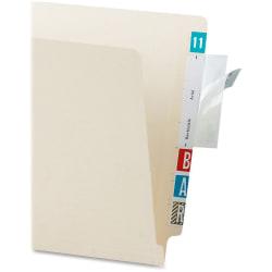 Tabbies Self-adhesive File Folder Label Protectors - Clear - 500 / Box