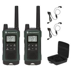 Motorola Talkabout T465 Two-Way Radio, Dark Green