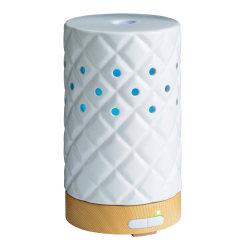 """Airome Ultrasonic Essential Oil Diffuser, 6-1/4"""" x 3-3/4"""", Matte Diamond"""