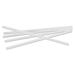 "Boardwalk® Unwrapped Jumbo Straws, 7 3/4"", Translucent, Pack Of 250 Straws"