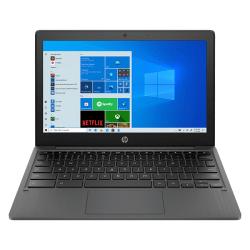 """HP 11a-na0040nr Chromebook, 11.6"""" Touch Screen, MediaTek MT8183, 4GB Memory, 32GB eMMC, Chrome OS, 1F6F9UA#ABA"""