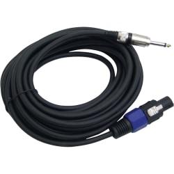 Pyle PylePro Professional Speaker Cable - Speakon - Phono - 30ft