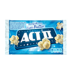 ACT II Microwave Popcorn, Butter Flavored, 2.75 Oz Bag, Box Of 36