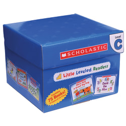 Scholastic® Little Leveled Readers Book: Level C Box Set, Grades K-2, Pack Of 75 Books