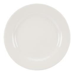 "QM Air Force Dinner Plates, 10"", White, Pack Of 24 Plates"