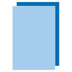"Office Depot Brand Dual Color Foam Board, 20"" x 30"", Dark Blue & Sky Blue, Pack Of 2"