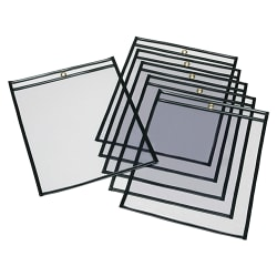 SKILCRAFT® Transparent Poly Envelopes, Clear, Pack Of 100 (AbilityOne 7510-00-272-9805)
