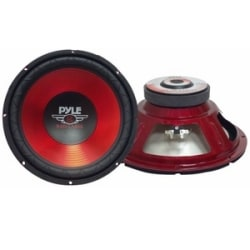 "Pyle PLW10RD Woofer - 600 W PMPO - 1 Pack - 4 Ohm - 10"" - Automobile"