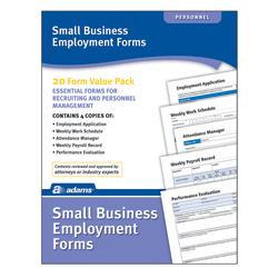 Adams® Small Business Employment