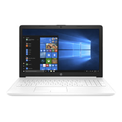 "HP 15-db0071nr Laptop, 15.6"" Screen, AMD A9, 4GB Memory, 1TB Hard Drive, Windows® 10 Home"