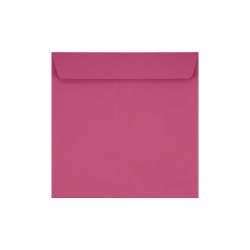 """LUX Square Envelopes With Peel & Press Closure, 7 1/2"""" x 7 1/2"""", Magenta, Pack Of 50"""