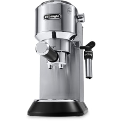 DeLonghi Dedica Deluxe 15-Bar 2-Cup Pump Espresso Machine With Rapid Cappuccino System, Stainless Steel