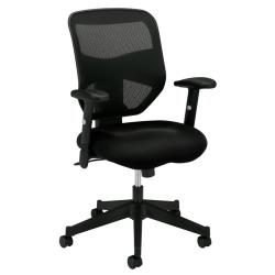 HON® Prominent™ Mesh Fabric High-Back Task Chair, Black