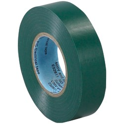 """Tape Logic® 6180 Electrical Tape, 1.25"""" Core, 0.75"""" x 60', Green, Case Of 10"""