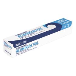 "Boardwalk® Premium Quality Aluminum Foil Roll, 18"" x 1,000', Silver"