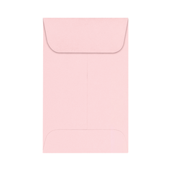 """LUX Coin Envelopes, #1, 2 1/4"""" x 3 1/2"""", Candy Pink, Pack Of 1,000"""