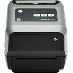 "Zebra ZD620d Direct Thermal Printer - Monochrome - Desktop - Label/Receipt Print - 4.09"" Print Width - 7.99 in/s Mono - 203 dpi - 4.65"" Label Width - 39.02"" Label Length)"