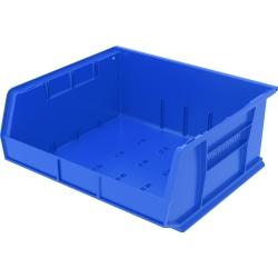 Akro-Mils AkroBin Storage Bin, Medium Size, Blue