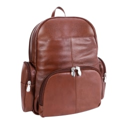 "McKlein S-Series Cumberland Backpack With 15"" Laptop Pocket, Brown"