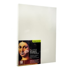 """Ampersand Artist Panel Canvas Texture Cradled Profile, 9"""" x 12"""", 3/4"""", Pack Of 2"""