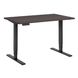 "Bush Business Furniture Move 80 Series 48""W x 30""D Height Adjustable Standing Desk, Storm Gray/Black Base, Standard Delivery"