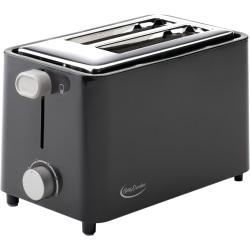 Betty Crocker BC-2605CB 2-Slice Toaster - Black - Toast, Bagel - Black