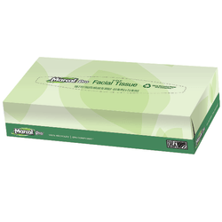 Marcal® Pro 2-Ply Facial Tissues, 100% Recycled, White, Box Of 100, 30 Boxes Per Case