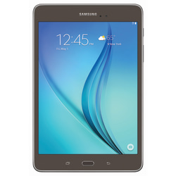 "Samsung Galaxy Tab® A Wi-Fi Tablet, 8"" Screen, 1.5GB Memory, 16GB Storage, Android 5.0 Lollipop, Smoky Titanium"