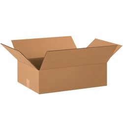 """Office Depot® Brand Corrugated Boxes, 8""""H x 16""""W x 22""""D, 15% Recycled, Kraft, Bundle Of 20"""