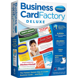 Business Card Factory Deluxe 4