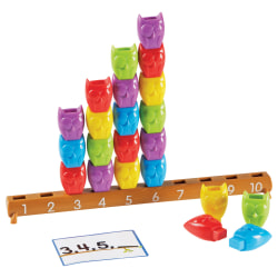 Learning Resources 1-10 Counting Owl Activity Set - Theme/Subject: Learning - Skill Learning: Counting, Addition, Subtraction, Patterning, Number, Sorting, Color Identification - 3+